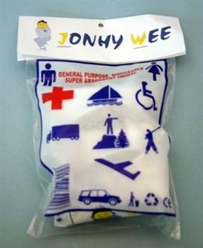 Urinbeutel für unterwegs ~ Johny Wee (3 Stück)