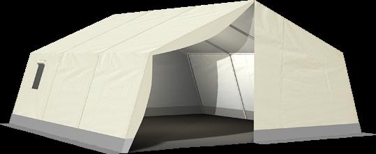 MUZ 170 - Natur Mannschafts- und Unterkunftszelt