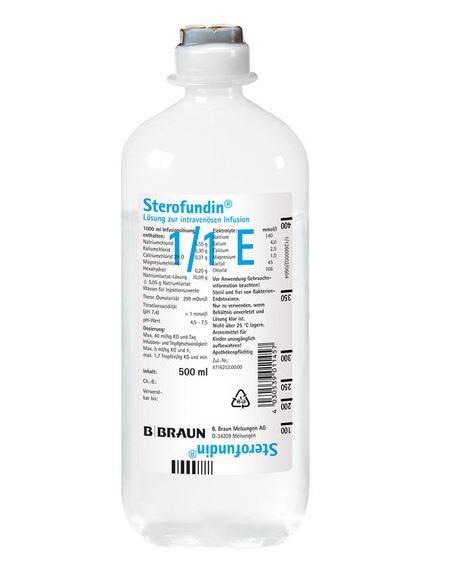Sterofundin® rein (10 x 500 ml)