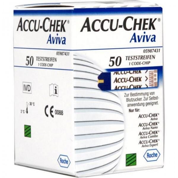 ACCU-CHEK® Aviva Blutzucker-Teststreifen