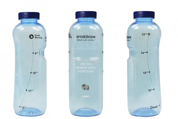 Trinkflasche 1 ltr. (10 Stück)