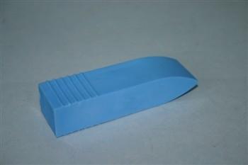 Mundkeil aus Gummi, blau
