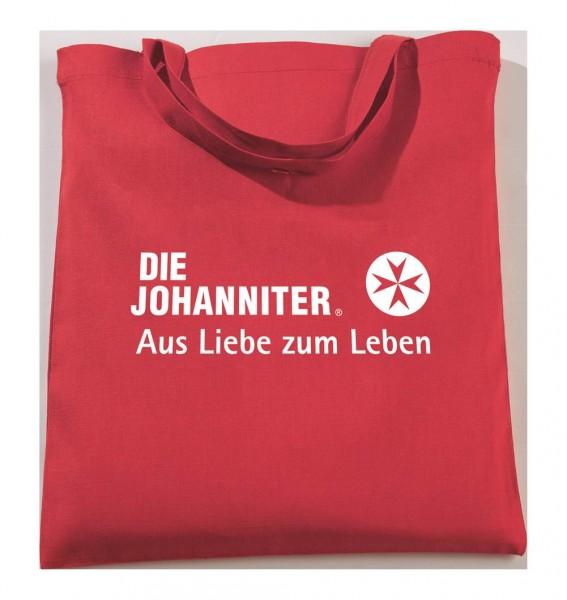 Baumwolltasche rot JoSe/GmbH 10 Stück