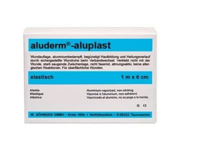 aluderm®-aluplast elastisch 1 m x 6 cm