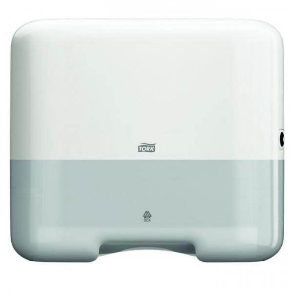 Tork Elevation-Box Mini - weiß 332 x 291 x 135 mm (BxHxT) ZZ-Falzung