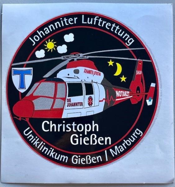 Aufkleber: Christoph Gießen