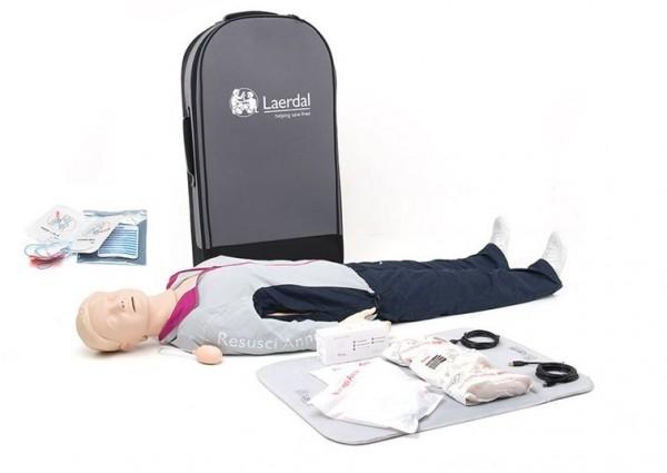 Resusci Anne QCPR AED Ganzkörper in Trolley Koffer