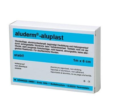 aluderm®-aluplast stabil 1 m x 6 cm