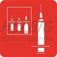 Piktogramm Injektion / Medikamente