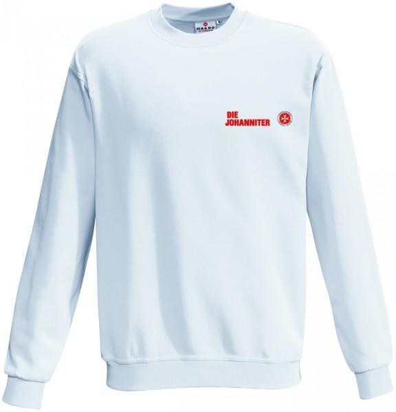 Sweatshirt ind. Wäsche JUH titan + weiß