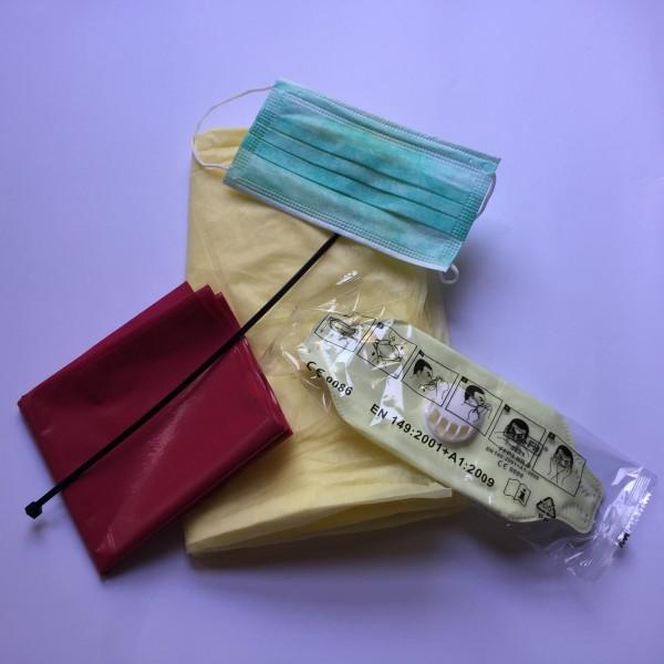 Infektionsschutz-Set MRSA inkl. SpashCoat EasyOff (75 Stück)