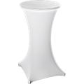 Stehtisch- Hussen mit zusätzlichem Bezug für Tischplatte