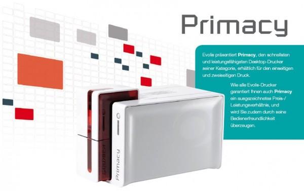 "Evolis Primacy black Edition Kartendrucker ""solange Vorrat reicht"""