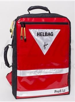 HELBAG PROFI Lc 2.0 - rot - HELPlan mit weißen Reflexstreifen