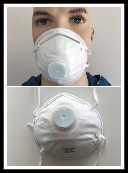 REINTEX FFP3 Maske mit Ventil 240 Stück