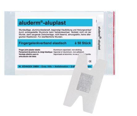 aluderm®-aluplast elastisch Fingergelenkverband 50 Stück