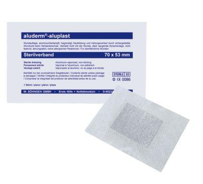 aluderm®aluplast Sterilverband 70 x 53 mm