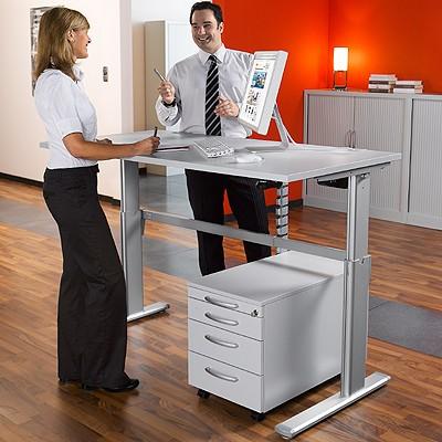 Steh- / Sitztisch Standard