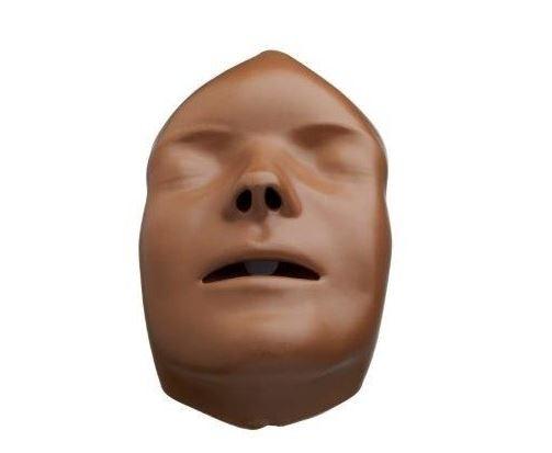 Gesichter (5 Stk, dunkelhäutig) für Mini Anne Plus