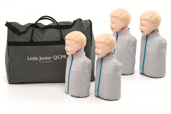 LITTLE JUNIOR 4er Paket mit Tasche