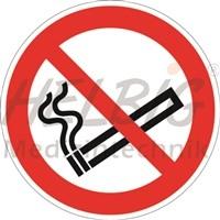 Verbotszeichen Rauchen verboten Kunststoff Durchm.20cm langnachleuchtend