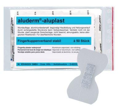 aluderm®-aluplast stabil Fingerkuppenverband 50 Stück