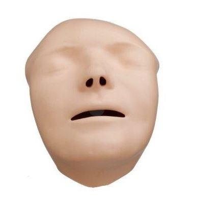 Gesichter (5 Stk, hellhäutig) für Mini Anne Plus