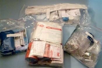 Inhalt Sanitätskoffer/Tasche