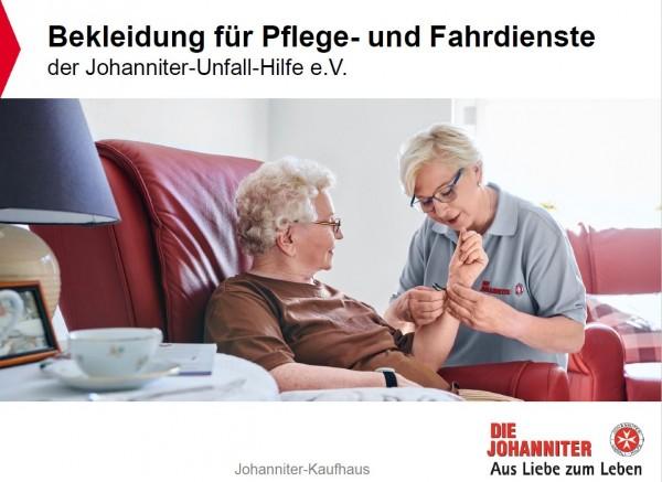 Broschüre Bekleidung für Pflege- und Fahrdienste