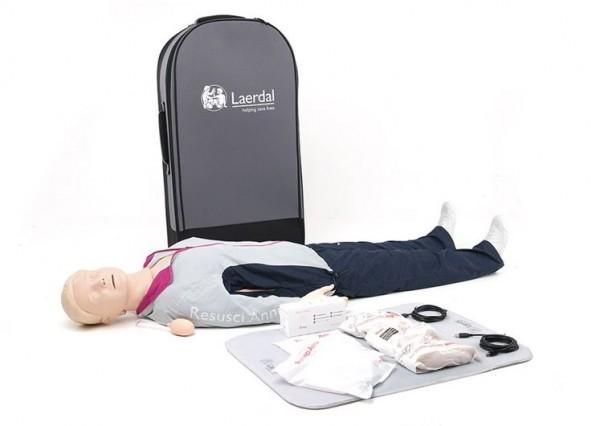 Resusci Anne QCPR Ganzkörper in Trolley Koffer