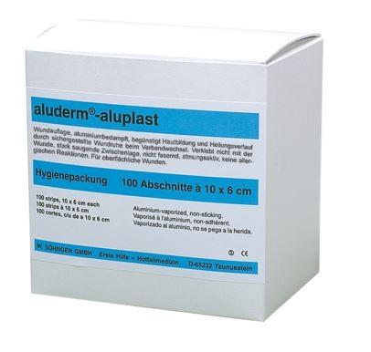 aluderm®-aluplast elastisch Hygienepackung 10 x 6 cm 100 Stück