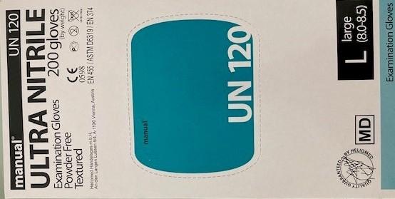 Nitril Handschuh manual Ultra Nitrile 200er Pack