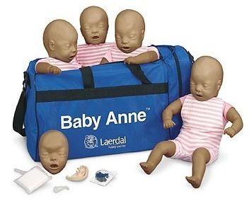 Baby Anne Dark 4-Pack mit Tragetasche