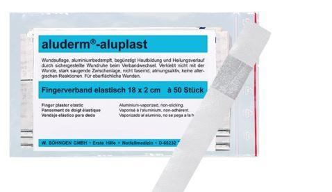 aluderm®-aluplast elastisch Fingerverband 18 x 2 cm 50 Stück