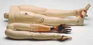 Traumamodul ( bewegl.Arme+Beine m. Verletzungen)