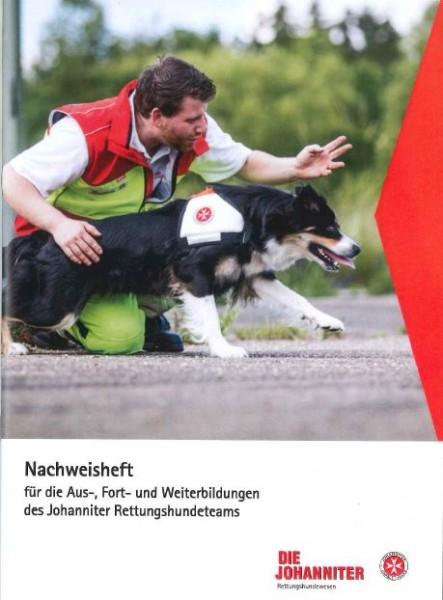 Ausbildungsnachweisheft Rettungshunde