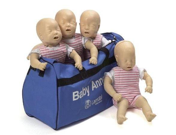 BABY ANNE 4er Pack mit Tragetasche