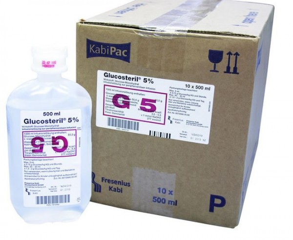 Glucosteril® 5%