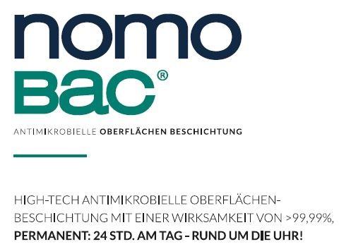 NOMOBAC Antivirale- antibakterielle Langzeitbeschichtung