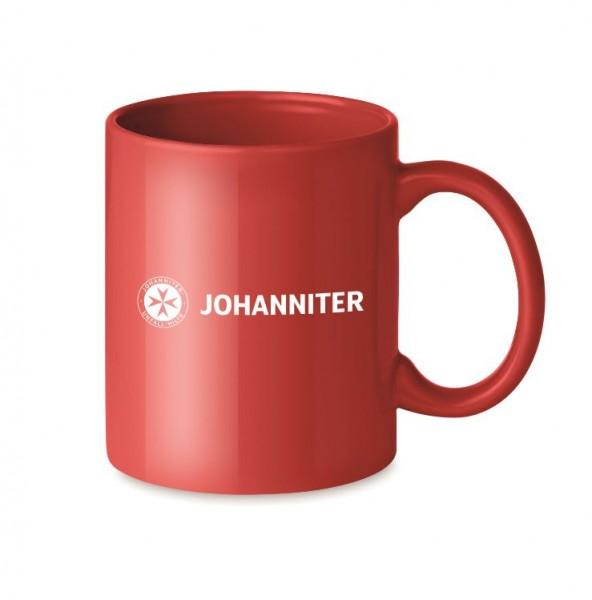 Keramiktasse Johanniter (12 Stück)