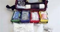 Feuerwehr Sanitätsdiensttasche gefüllt