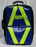 HELBAG PROFI blau Complan mit gelben Reflexstreifen
