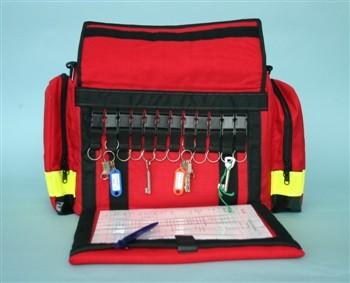 Pflegetasche - rot -
