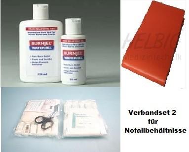 Füllung für Notfallbehältnisse (Set L)