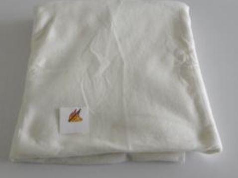 Nicht entflammbare Einmal-Decke