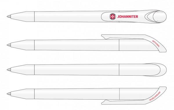 Antiviraler Kugelschreiber Johanniter