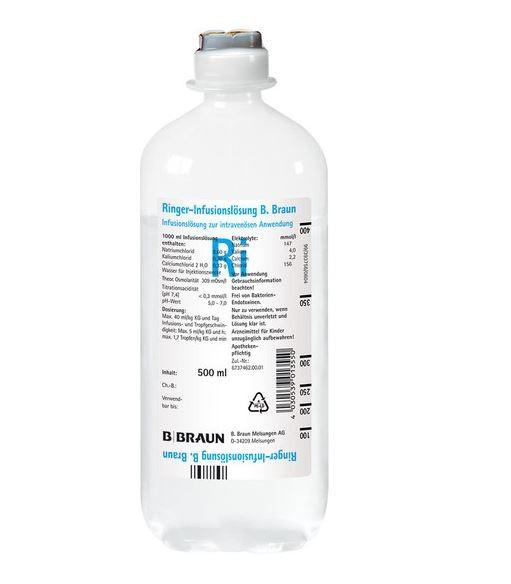 Ringer-Infusionslösung DAB 7 (10 x 500 ml)