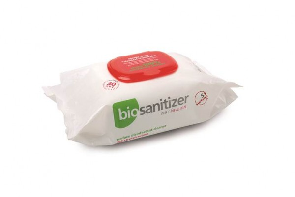biosanitizer S1 Stretch-Wipes