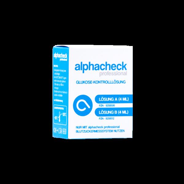 alphacheck professional Kontrolllösung, A und B - 1 Kombipaket