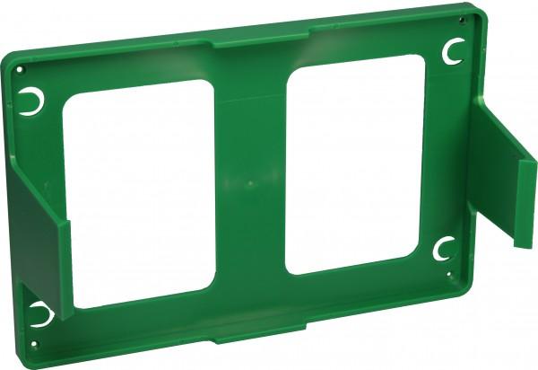 Wandhalterung Verbandkasten DIN B + C grün